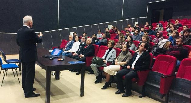 """Adıyaman Üniversitesinde """"Müzik"""" Konferansı"""
