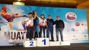 Adıyamanlı Sporcu, Emf Cup Muay Thai Avrupa Şampiyonu Oldu