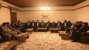 Adıyamanlılar Vakfı Ankara Şubesi İstişare Heyeti İlk Toplantısını Yaptı