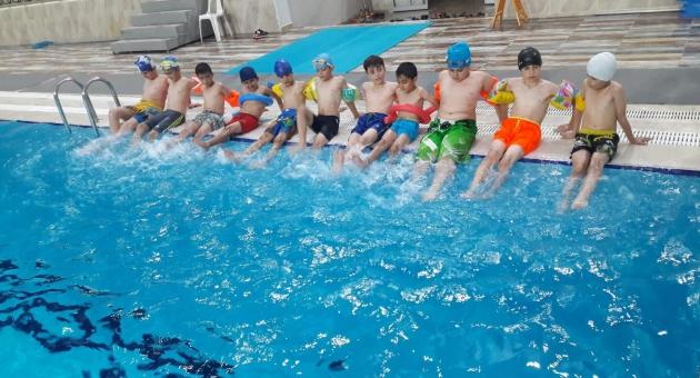 ADYÜ Yarı Olimpik Yüzme Havuzu Ağustos Ayı Kurs Kayıtları Başladı