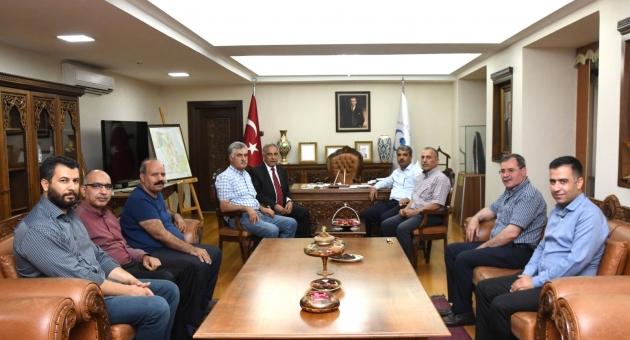 AESOB Başkanı Duranay'dan Prof. Dr. Turgut'a Hayırlı Olsun Ziyareti