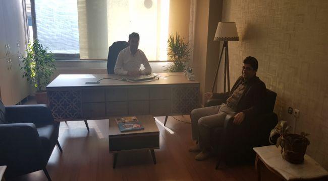 AGAD Başkan Aslan'dan Başkan Dündar'a ziyaret