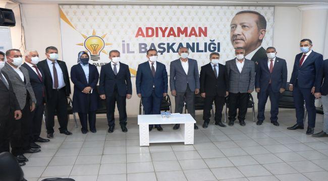 AK Parti Adıyaman 7. Olağan İl Kongresini 18 Ocak'ta yapacak - Videolu Haber