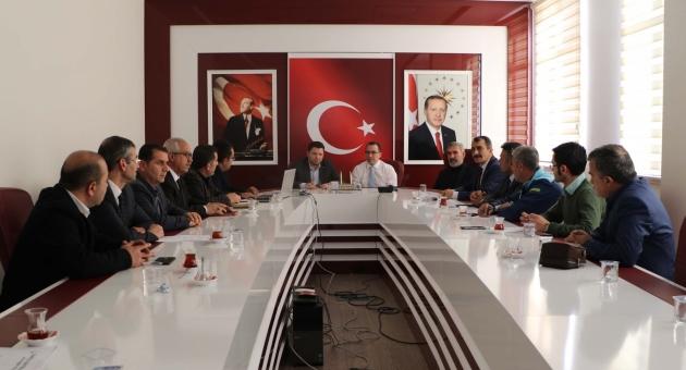 AK Parti Adıyaman Milletvekili Toprak, Kurum Amirleriyle Toplantı Yaptı