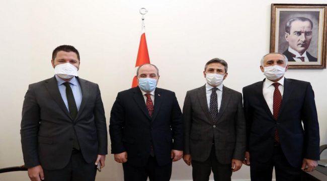 AK Parti Adıyaman Milletvekillerinden Bakan Varank'a ziyaret