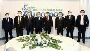 AK Parti Genel Başkan Yardımcısı Canikli'den, Başkan Kılınç'a ziyaret