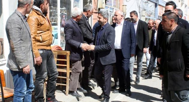 AK Parti Heyetinden Çelikhan İlçesine Ziyaret
