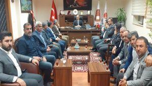 AK Parti Heyetinden, Kahta Cumhuriyet Başsavcısı Öner'e Ziyaret