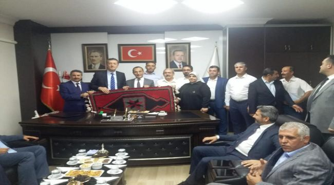 AK Parti İl Başkanı Dağtekin, Bakan Selçuk'un Ziyaretini Değerlendirdi