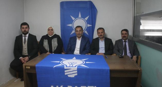 """AK Parti İl Başkanı Dağtekin """"Cumhurbaşkanımız 26 Mart'ta Adıyaman'da"""""""