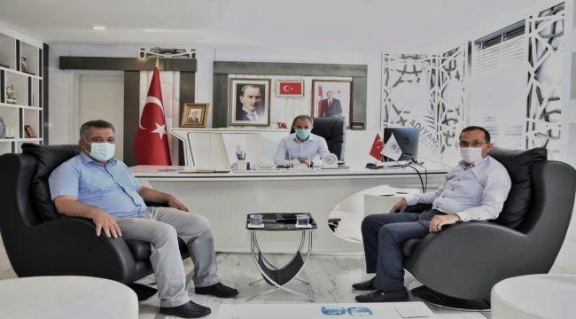 AK Parti İl Başkanı Dağtekin'den, Başkan Kılınç'a nezaket ziyareti