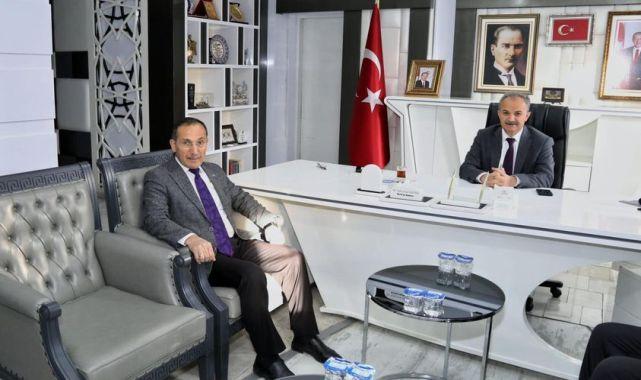 AK Parti İl Başkanı Dağtekin'den, Başkan Kılınç'a Ziyaret