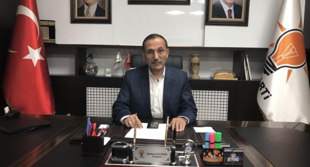 AK Parti İl Başkanı Mehmet Dağtekin'den Kurban Bayramı Mesajı