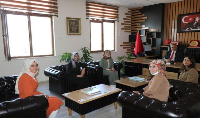 AK Parti Kadın Kolları'ndan Gönen'e ziyaret