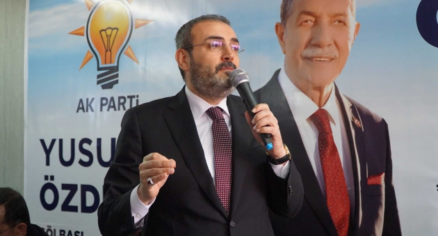 AK Parti'li Ünal AK Parti Gölbaşı'nı Ziyaret Etti