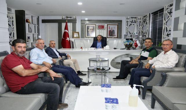 AK Parti Milletvekili Taş'tan, Başkan Kılınç'a Ziyaret