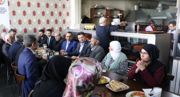 AK Parti Milletvekili Toprak, Şehit Aileleri İle Buluştu