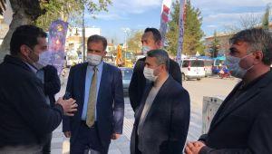 AK Parti yönetimi esnaf ziyaretlerine devam ediyor