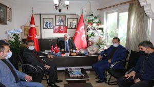 AK Parti yönetiminden MHP'ye hayırlı olsun ziyareti - Videolu Haber