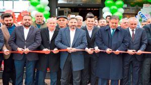 AK Partili Aydın, Durdukoca ve Kavak, Aileleri Tarafından 2 Milyon Yatırımla Kurulan Tesisin Açılışını Yaptı - Videolu Haber