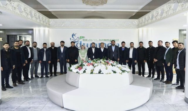 AK Partili Gençlerden Başkan Kılınç'a Ziyaret