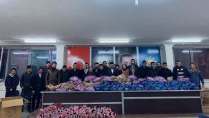 AK Partili Gençlerden Depremzede Çocuklara Oyuncak