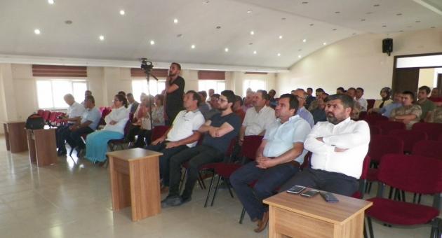 AKEDAŞ'tan Göksun Kaymakamlık Çalışanlarına 'Enerji Verimliliği' Semineri