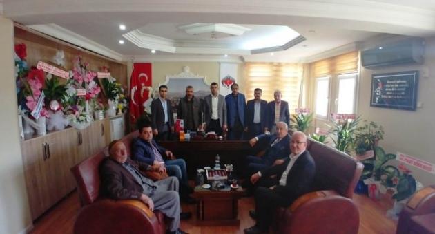 Aksoy'a Hayırlı Olsun Ziyaretleri Devam Ediyor