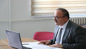 Alagöz'den Video Konferans Yöntemiyle Toplantı