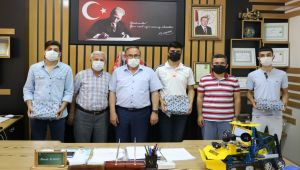 Alagöz, Türkiye birincisini ödüllendirdi