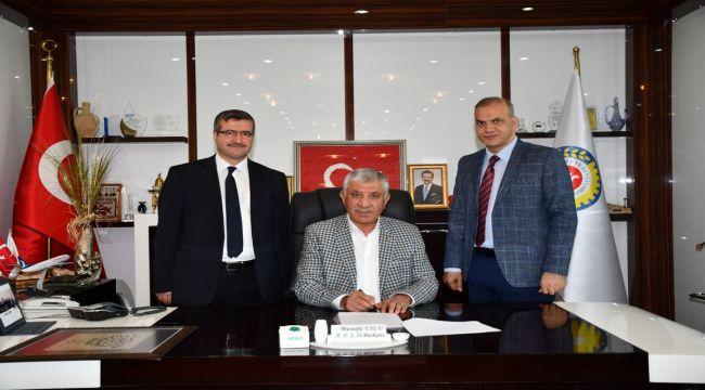 Albaraka Türk Katılım Bankası ile ATSO Protokol İmzaladı