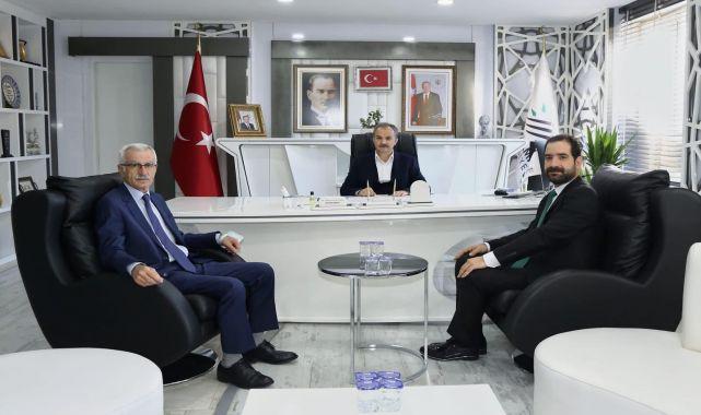 Alevi Kanaat Önderlerinden, Başkan Kılınç'a Ziyaret