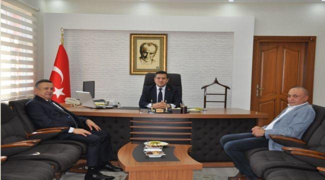 Ali Erdemoğlu'ndan Kaymakam Bedirhan İmamoğlu'na Ziyaret