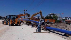 Altınşehir Mahallesi'nde altyapı çalışması