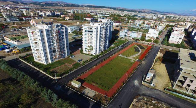 Altınşehir Mahallesi Yürüyüş Parkına Kavuştu