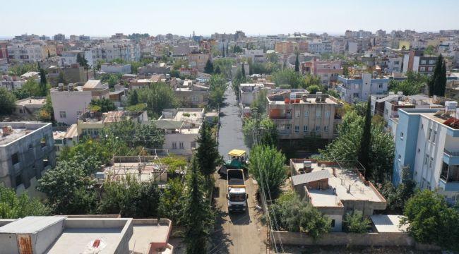 Altyapısı tamamlanan sokaklar asfaltlanıyor