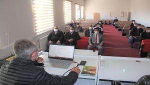 'Arıcılık, İpekböcekçiliği, Kaz ve Hindi Yetiştiriciliği Yatırımlarının Desteklenmesi Projesi' tanıtım toplantısı