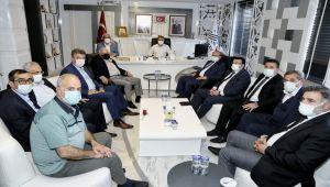 Aşiret Liderlerinden Başkan Kılınç'a ziyaret
