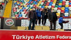 Atletizmde Türkiye üçüncülüğü Adıyaman'ın
