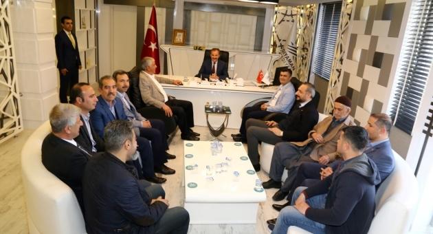 ATSO Yönetiminden, Başkan Kılınç'a Hayırlı Olsun Ziyareti