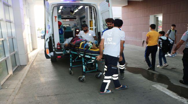 Ayağını Spiralle Kesen Kişi Ağır Yaralandı