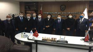 Babacan, DEVA Partisi Kahta İlçe Başkanlığı'nın açılışını yaptı