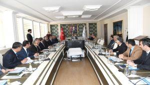 Bağımlılıkla Mücadele İl Koordinasyon Toplantısı Vali Pekmez Başkanlığında Yapıldı
