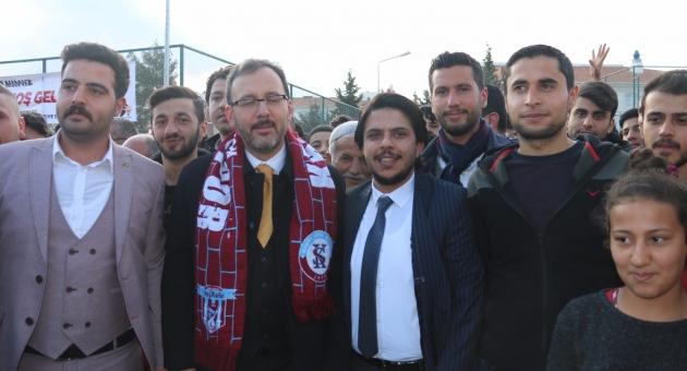 Bakan Kasapoğlu, Kahtaspor'a 100 Bin Lira Yardım Sözü