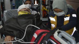 Başına levye çarpan kişi yaralandı - Videolu Haber