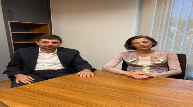 Başkan Aslan'dan Genel Başkan Yardımcısı Fırat'a ziyaret