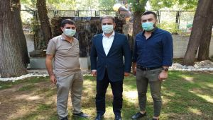 Başkan Aslan'dan Milletvekili Fırat'a ziyaret