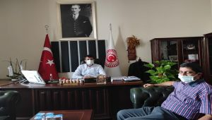 Başkan Aslan'dan Milletvekili Tutdere'ye ziyaret