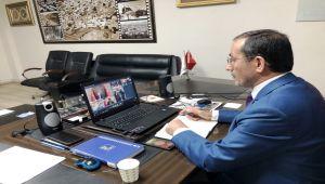 Başkan Dağtekin, Cumhurbaşkanı Erdoğan'la Görüştü