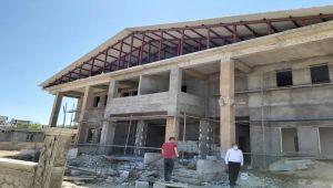 Başkan Erdoğan'dan köylerde devam eden sağlık ocağı inşaatını inceledi